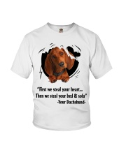 Dachshund Lover Youth T-Shirt tile