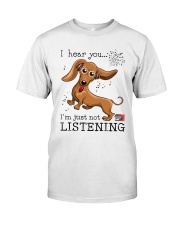 Dachshund Lover Classic T-Shirt front