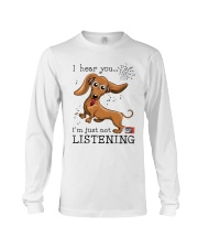 Dachshund Lover Long Sleeve Tee thumbnail