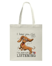 Dachshund Lover Tote Bag tile