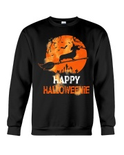 Happy Halloweenie Crewneck Sweatshirt thumbnail