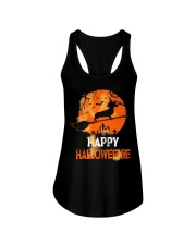 Happy Halloweenie Ladies Flowy Tank thumbnail