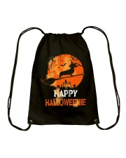 Happy Halloweenie Drawstring Bag thumbnail