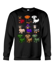 Happy Hallowiener Crewneck Sweatshirt thumbnail