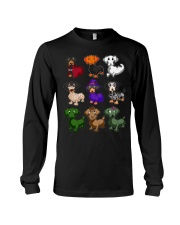 Happy Hallowiener Long Sleeve Tee thumbnail