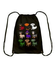 Happy Hallowiener Drawstring Bag thumbnail