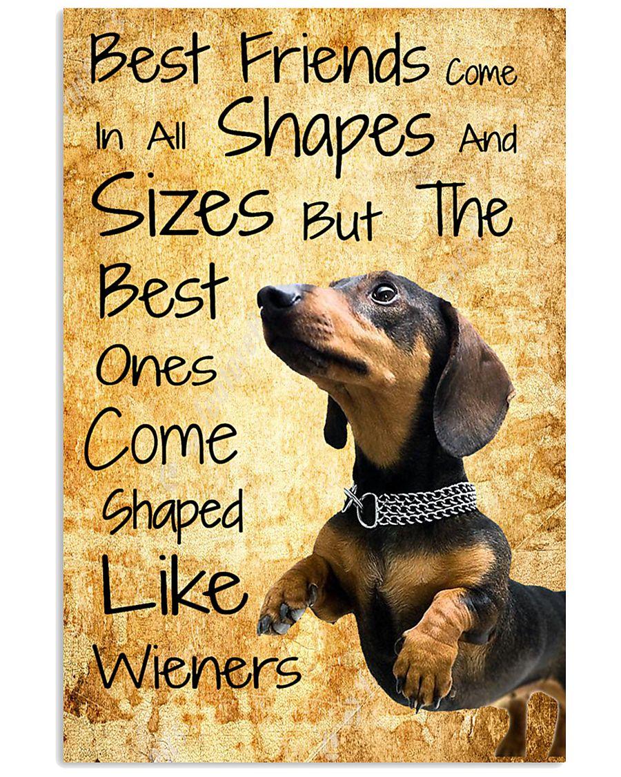Wiener Best Friends 16x24 Poster