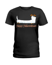 HAPPY HALLOWEINER Ladies T-Shirt thumbnail