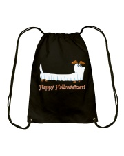 HAPPY HALLOWEINER Drawstring Bag tile