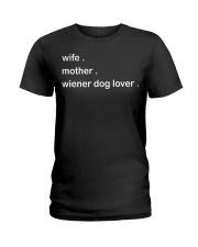 Dachshund Lover Ladies T-Shirt thumbnail