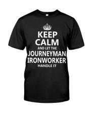 Journeyman Ironworker Classic T-Shirt front
