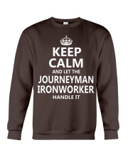 Journeyman Ironworker Crewneck Sweatshirt thumbnail