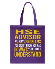 Hse Advisor Tote Bag thumbnail