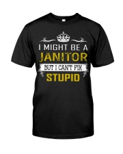 Janitor Classic T-Shirt front