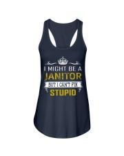 Janitor Ladies Flowy Tank thumbnail