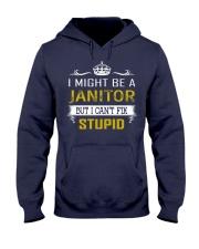 Janitor Hooded Sweatshirt thumbnail