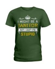 Janitor Ladies T-Shirt thumbnail