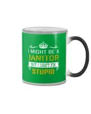 Janitor Color Changing Mug thumbnail