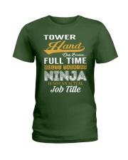 Tower Hand Ladies T-Shirt thumbnail