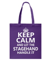 Stagehand Tote Bag thumbnail