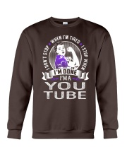 You Tube Crewneck Sweatshirt thumbnail