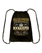 Bookkeeper Drawstring Bag thumbnail