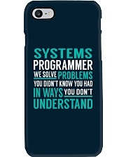 Systems Programmer Phone Case thumbnail