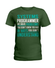 Systems Programmer Ladies T-Shirt thumbnail