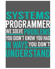 Systems Programmer 11x17 Poster thumbnail