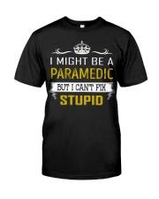 Paramedic Classic T-Shirt front