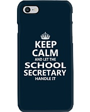 School Secretary Phone Case thumbnail
