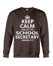 School Secretary Crewneck Sweatshirt thumbnail