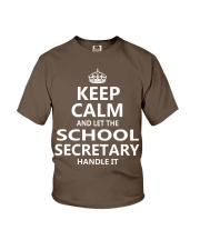 School Secretary Youth T-Shirt thumbnail