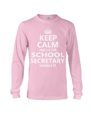 School Secretary Long Sleeve Tee thumbnail