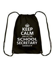 School Secretary Drawstring Bag thumbnail