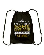 Game Developer Drawstring Bag thumbnail