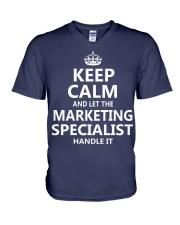 Marketing Specialist V-Neck T-Shirt thumbnail