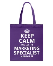 Marketing Specialist Tote Bag thumbnail