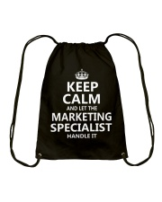 Marketing Specialist Drawstring Bag thumbnail