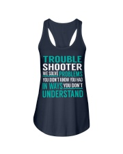 Trouble Shooter Ladies Flowy Tank thumbnail