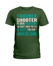 Trouble Shooter Ladies T-Shirt thumbnail