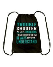 Trouble Shooter Drawstring Bag thumbnail