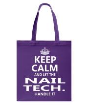 Nail Tech Tote Bag thumbnail