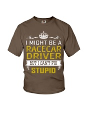 Racecar Driver Youth T-Shirt thumbnail
