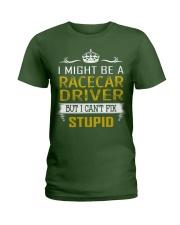 Racecar Driver Ladies T-Shirt thumbnail