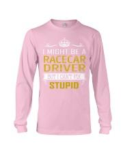 Racecar Driver Long Sleeve Tee thumbnail