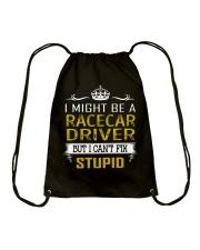Racecar Driver Drawstring Bag thumbnail