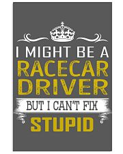 Racecar Driver 11x17 Poster thumbnail