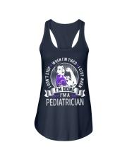 Pediatrician Ladies Flowy Tank thumbnail