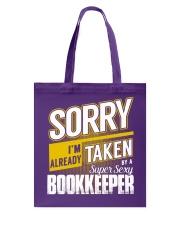 Bookkeeper Tote Bag thumbnail